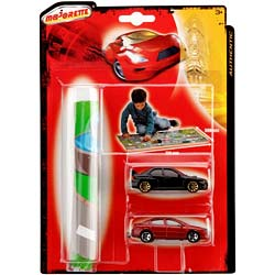 Majorette Authentic Playmat +2cars (205355)