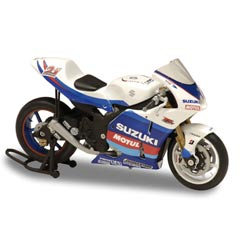 Solido мотоциклы масштаба 1/18 Suzuki GSV - R - John Hopkins - 2005 (150789)